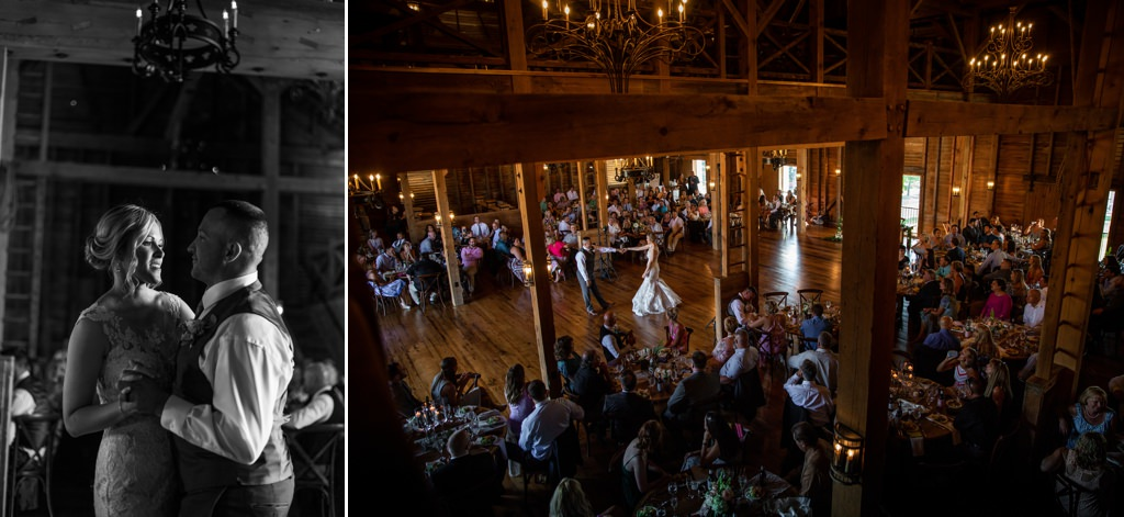 first-dance-main-barn-the-star-barn-wedding