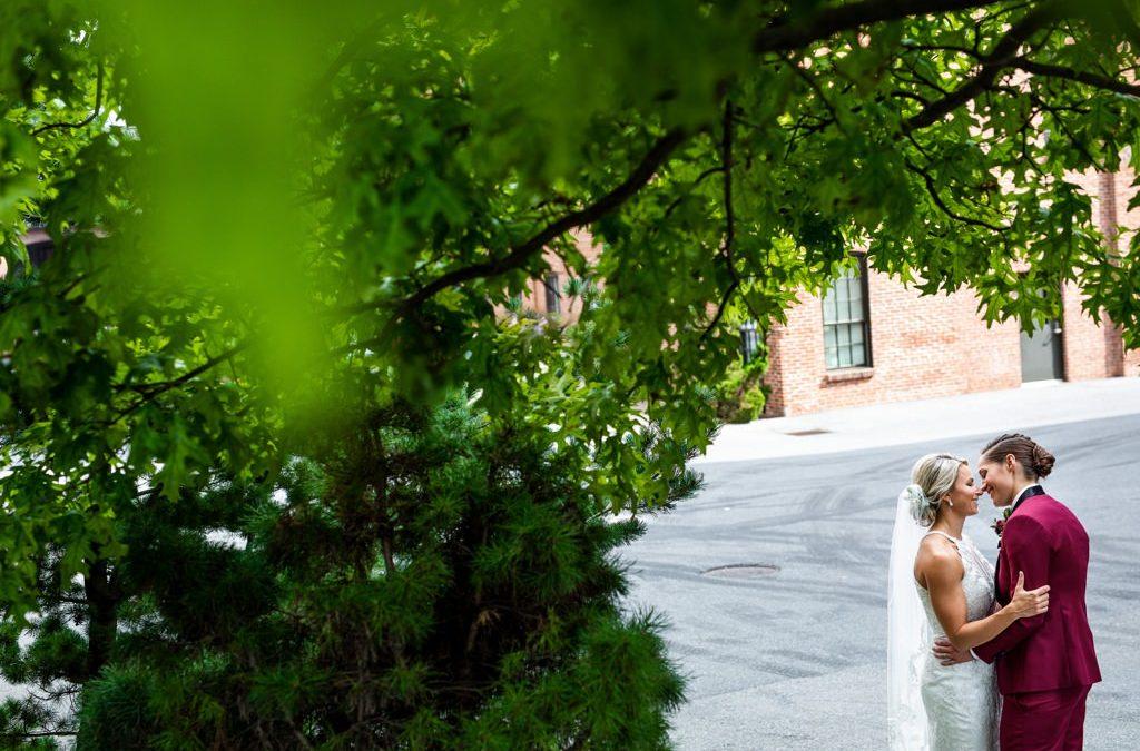 A Beautiful Wedding at The Cork Factory Hotel | Jillian and Pam